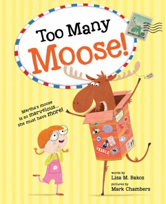 Cover image for Too many moose!