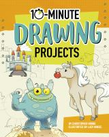 Cover image for 10-minute drawing projects.
