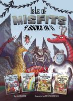 Cover image for Isle of misfits : 4 books in 1!