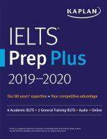 Cover image for IELTS prep plus 2019-2020.