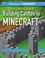 Cover image for The unofficial guide to building castles in Minecraft