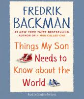 Cover image for Things my son needs to know about the world