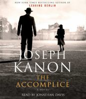 Cover image for The accomplice : a novel