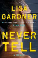 Cover image for Never tell : a novel