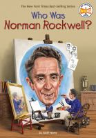 Cover image for Who was Norman Rockwell?