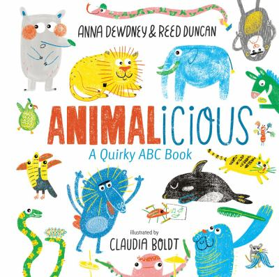 Cover image for Animalicious : a quirky ABC book
