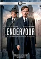 Cover image for Endeavour. The complete fourth season