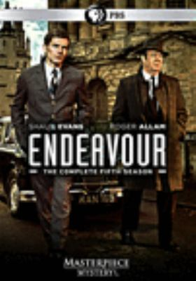 Cover image for Endeavour. The complete fifth season