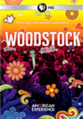 Cover image for Woodstock : three days that defined a generation
