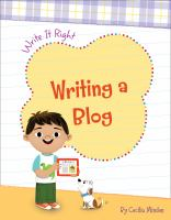 Cover image for Writing a blog