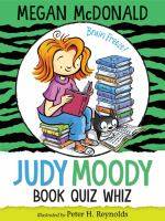 Cover image for Judy Moody, book quiz whiz