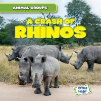 Cover image for A crash of rhinos