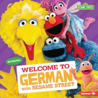 Cover image for Welcome to German with Sesame Street