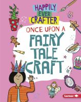 Cover image for Once upon a fairy tale craft