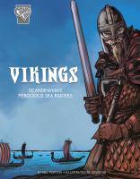 Cover image for Vikings : Scandinavia's ferocious sea raiders