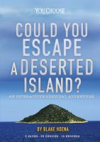 Cover image for Could you escape a deserted island? : an interactive survival adventure