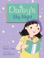 Cover image for Daisy's big night