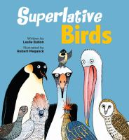 Cover image for Superlative birds