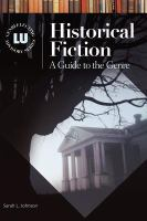 Cover image for Historical fiction : a guide to the genre
