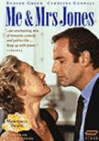 Cover image for Me & Mrs Jones