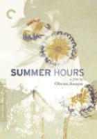 Cover image for L'heure d'été = Summer hours