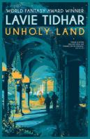 Cover image for Unholy land