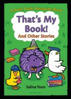 Cover image for That's my book! and other stories