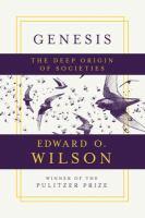 Cover image for Genesis : the deep origin of societies