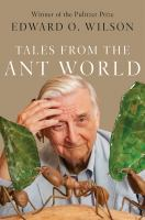 Cover image for Tales from the Ant World