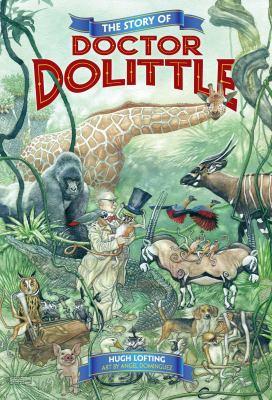 Cover image for The story of Doctor Dolittle