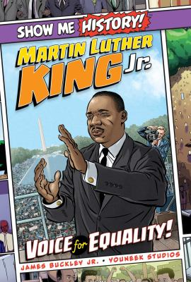 Cover image for Martin Luther King, Jr. : voice for equality!