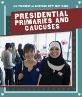 Cover image for Presidential primaries and caucuses