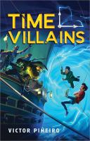 Cover image for Time villains