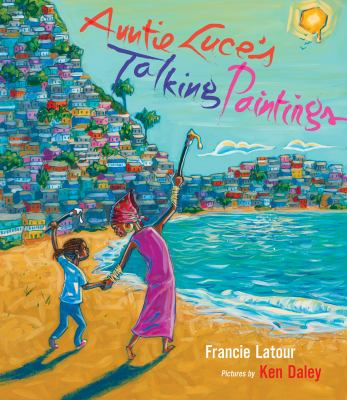 Cover image for Auntie Luce's talking paintings