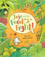 Cover image for Jojo and the food fight!