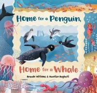 Cover image for Home for a penguin, home for a whale