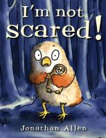 Cover image for I'm not scared!