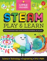 Cover image for STEAM play & learn