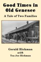 Cover image for Good times in old Genesee : a tale of two families