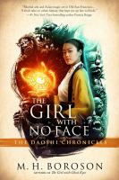 Cover image for The girl with no face