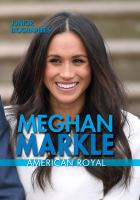 Cover image for Meghan Markle : American royal