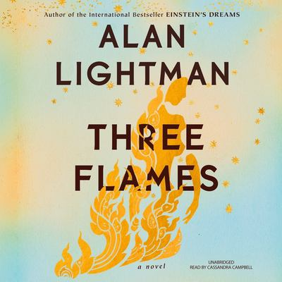 Cover image for Three flames : a novel