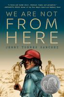 Cover image for We are not from here