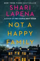 Cover image for Not a Happy Family