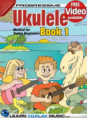 Cover image for Ukulele lessons for kids. Book 1 : how to play ukulele for kids