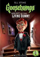 Cover image for Goosebumps. The night of the living dummy II ; Bride of the living dummy