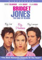 Cover image for Bridget Jones : the edge of reason