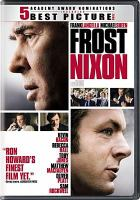 Cover image for Frost Nixon