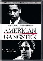 Cover image for American gangster