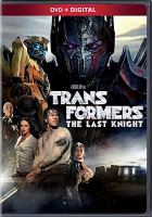 Cover image for Transformers. The last knight